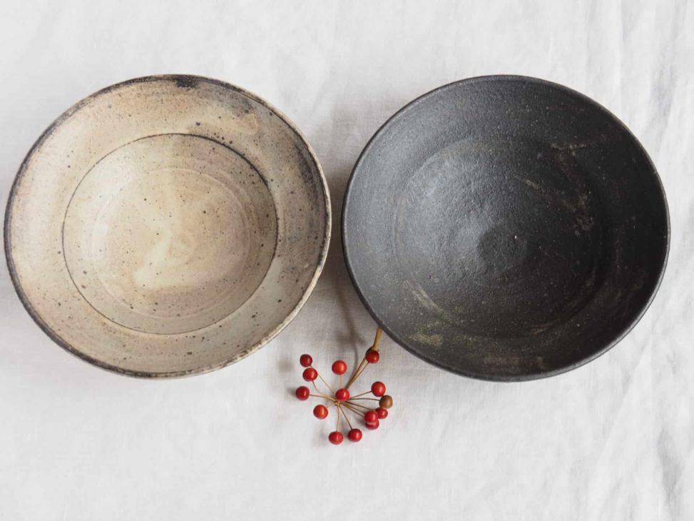 野口淳 7寸リム鉢