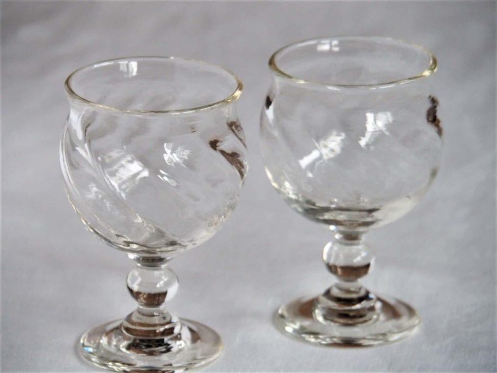 星耕硝子 丸モールワイングラス