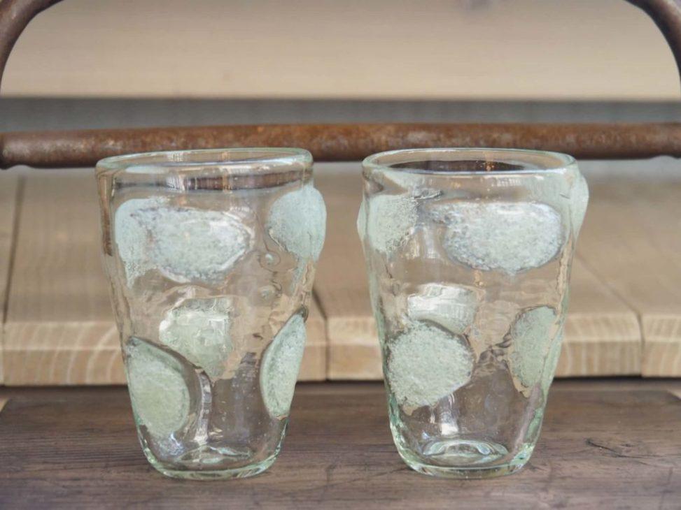 山田奈緖子泡水玉グラス