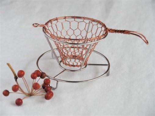 辻和金網コーヒードリッパー小銅