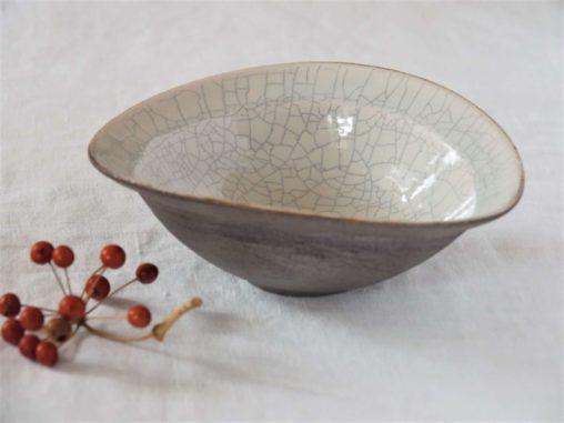 谷井直人白×黒たわみ鉢