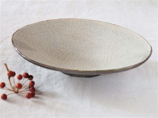 谷井直人白×黒だ円鉢