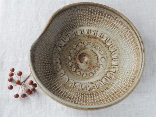廣辻有美三島7寸凹鉢