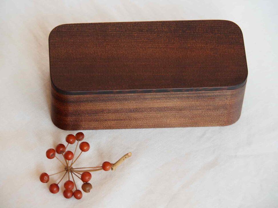 杉の木クラフト漆一段弁当箱小