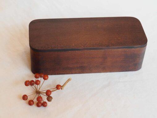 杉の木クラフト漆一段弁当箱大