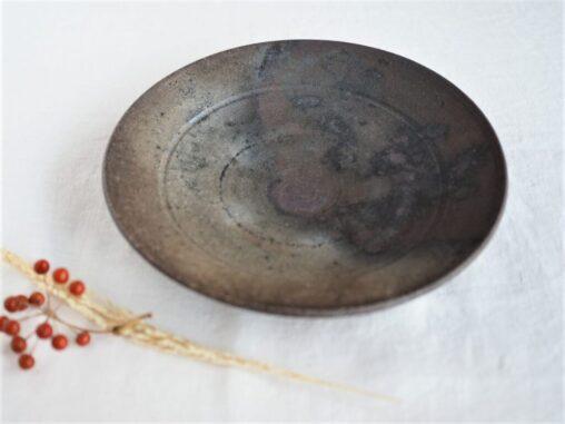 松村英治8寸リム皿