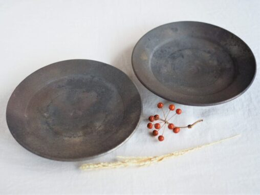 松村英治7寸リム皿